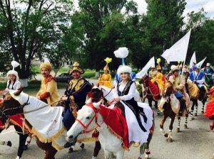 этнографический караван «Көне Тараздан- Асқақ Астанаға»