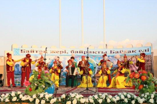 Прошел концерт художественной самодеятельности Байзакского района