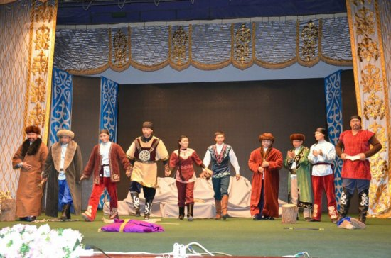 Облыстық «Театр КZ» байқауы