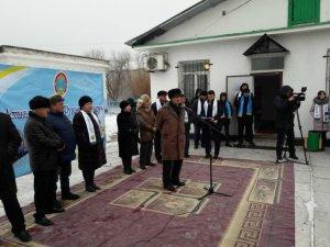 Астана қаласының 20 жылдығы мен Тәуелсіздік күніне арналған ақпараттық поезды