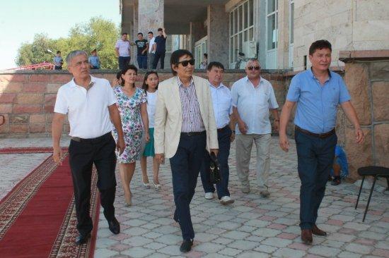 «Ел жүрегі - Астана!» атты Мойынқұм ауданының  мәдениет және өнер күндері