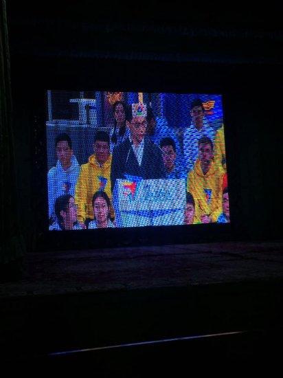 """Елбасы Н.Ә.Назарбаевтың қатысуымен өткен """"Жастар жылының"""" ашылу салтанатын аудан жастары тікелей эфирден қарады"""