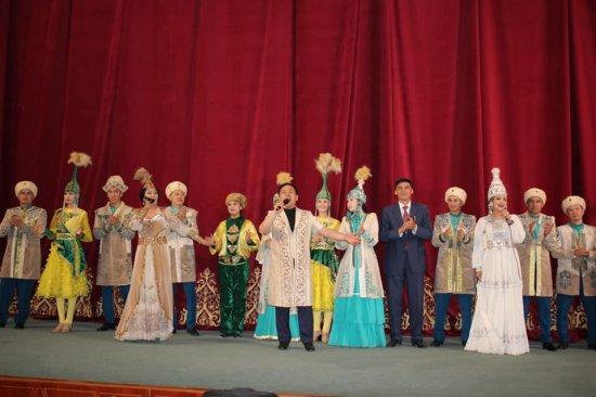 Жиззах облыстық музыкалық драма театрындағы ГАЛА КОНЦЕРТ