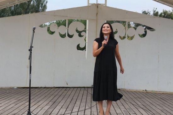 Информация  праздничного концерта самодеятельного художественного коллектива Байзакского района «Жамбылым қандай тамаша!»