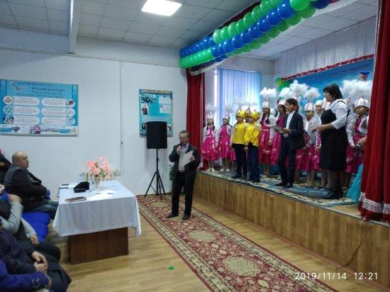 """""""Андас батыр"""" ауылдық мәдениет үйінде """"Жамбылым қандай тамаша"""" атты Жамбыл облысының 80 жылдығы аясында аудандық өнер фестивалі өтті."""